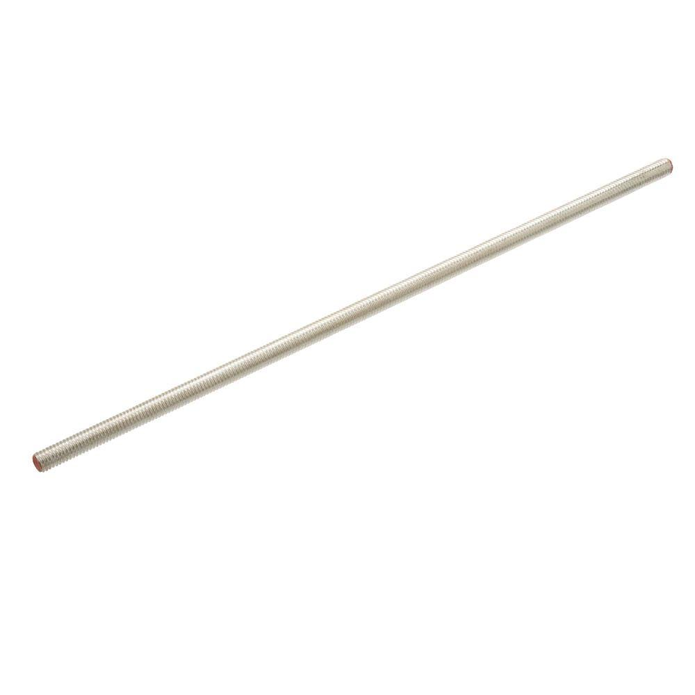 #8-32 x 12 in. Zinc-Plated Threaded Rod
