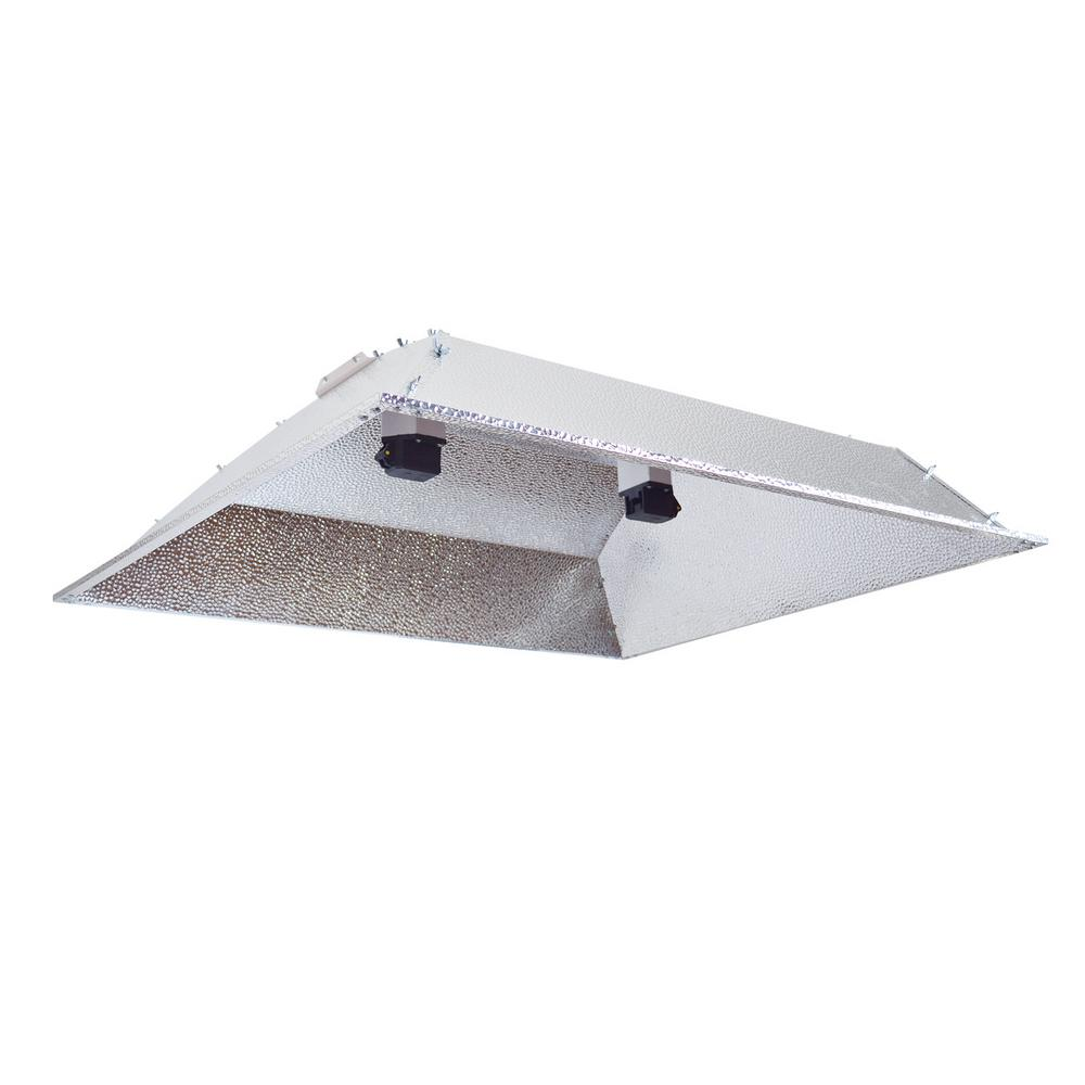 Double Ended DE XXL Open Hood Grow Light Reflector with S...