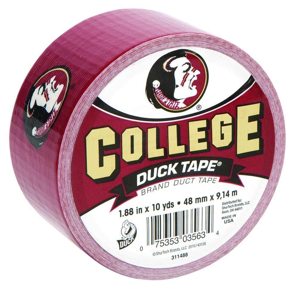 College 1-7/8 in. x 10 yds. Florida State University Duct Tape