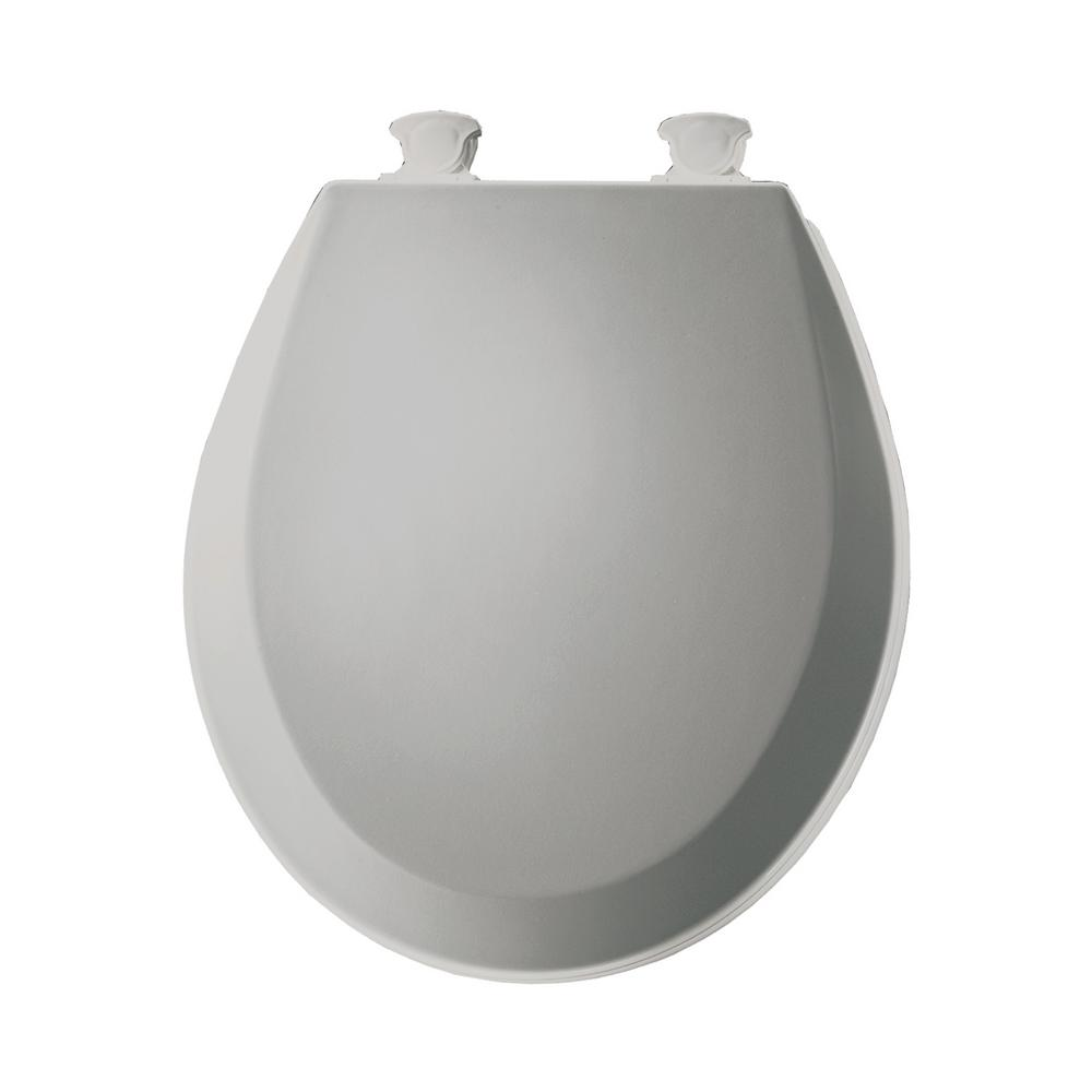 Groovy Bemis Lift Off Round Closed Front Toilet Seat In Silver Pdpeps Interior Chair Design Pdpepsorg