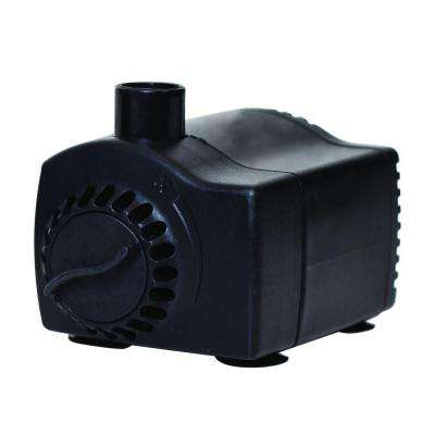 170 GPH Low Water Shut-Off Fountain Pump