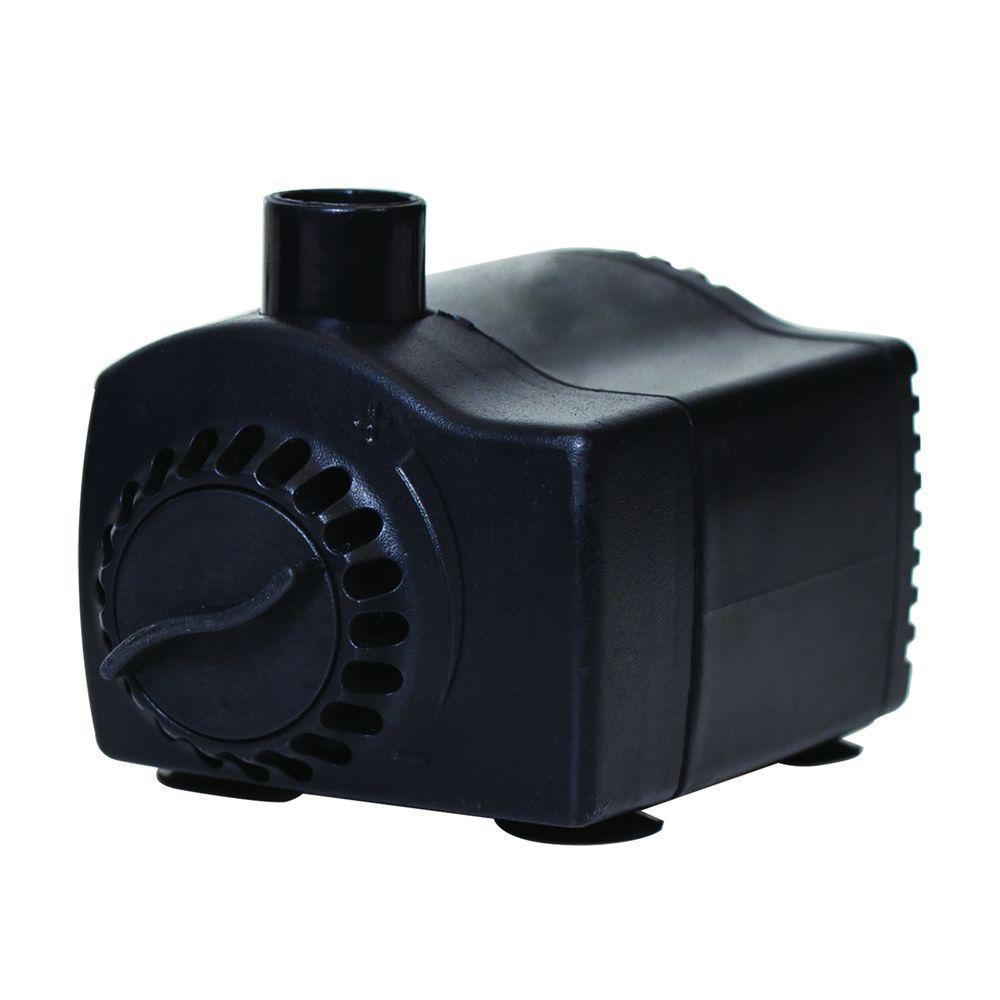 170 GPH Low Water Shut-Off Fountain Pump