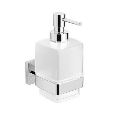 Boutique Hotel Wall Mounted Soap Dispenser in Chrome Finish