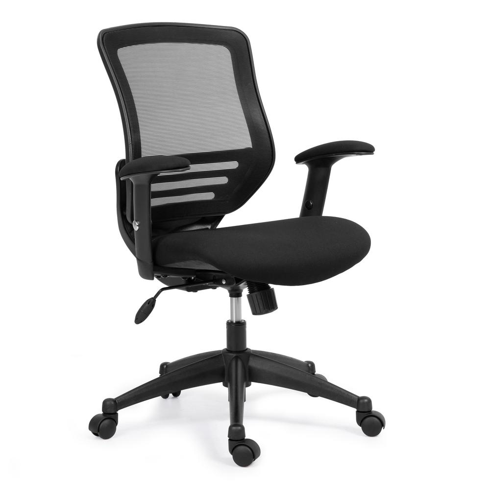 EDGEMOD Mash Back Office Chair, Black was $239.21 now $143.52 (40.0% off)