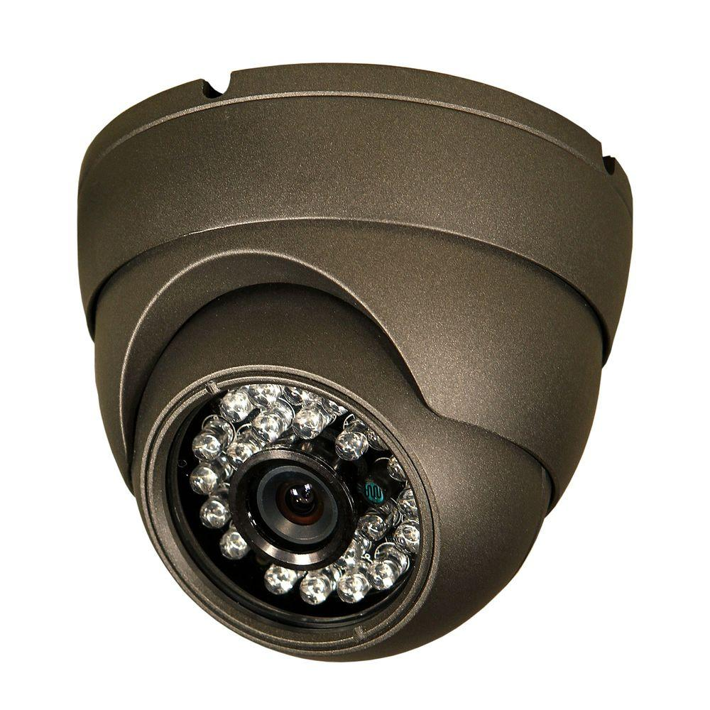 Security Labs Professional 650 TVL CCD Dome Shaped Surveillance Camera-DISCONTINUED
