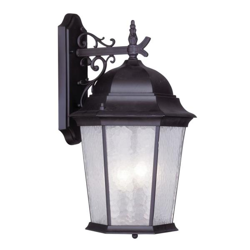 Livex Lighting 3-Light Bronze Outdoor Wall Lantern Sconce