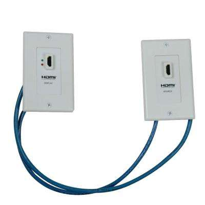HDMI Over Cat5 Wall Plate Extension Kit