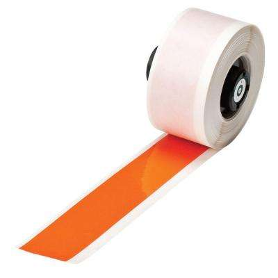 Handimark B-595 1 in. x 50 ft. Indoor/Outdoor Vinyl Orange Film Tape 1 per Roll