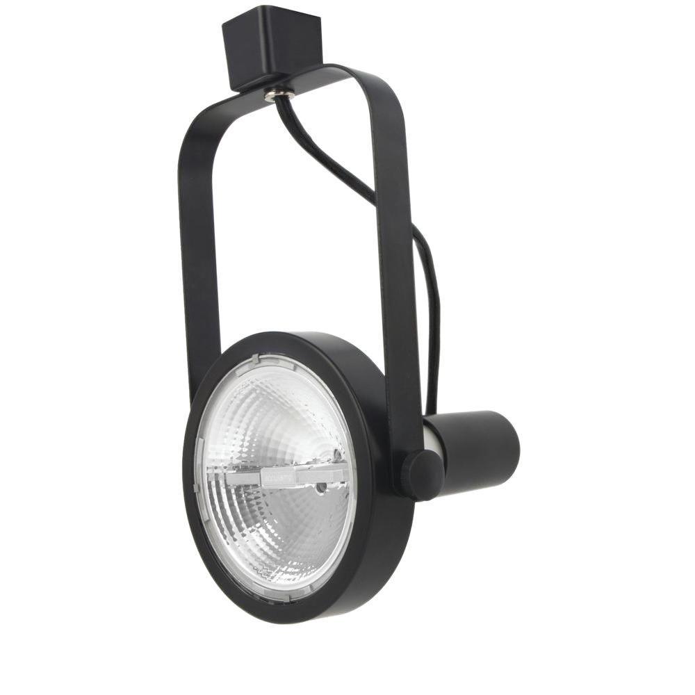 Lithonia Black Track Lighting: Lithonia Lighting 1-LIGHT BLACK REAR LOAD TRACK HEAD