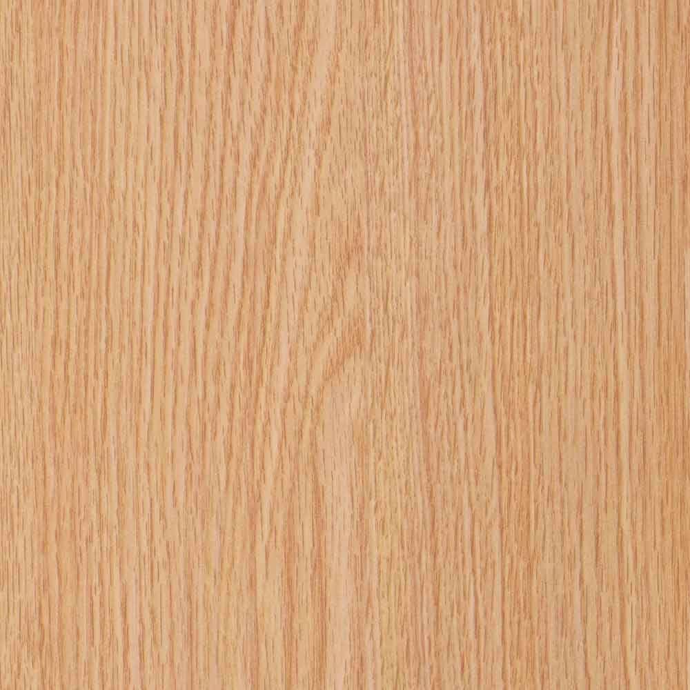 2 in. x 3 in. Laminate Countertop Sample in Castle Oak with Standard Fine Velvet Texture Finish