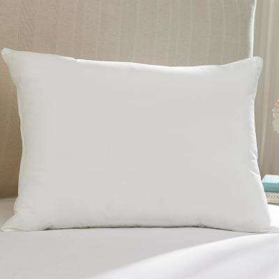 Hot Water Washable Allergy Protection 20 in. x 30 in. Medium Density Queen Pillow