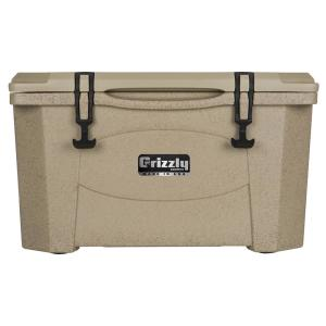 40 qt. Grizzly RotoMolded Cooler Sandstone by