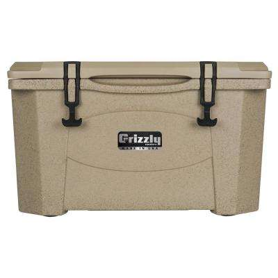 40 qt. Grizzly RotoMolded Cooler Sandstone