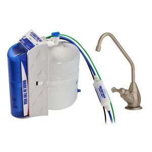 Pelican Water Pro 6-Stage Under Countertop Reverse Osmosis Drinking Water Filtration System