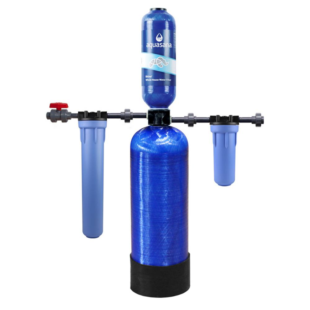Rhino Series 4-Stage 400,000 Gal. Whole House Chloramine Water Dispenser