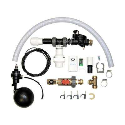 725 GPH Premium Residential Water Powered Backup Sump Pump with Water Alarm and Install Kit