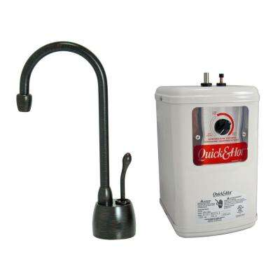 Single Handle Hot Water Dispenser Faucet With Heating Tank In Venetian  Bronze