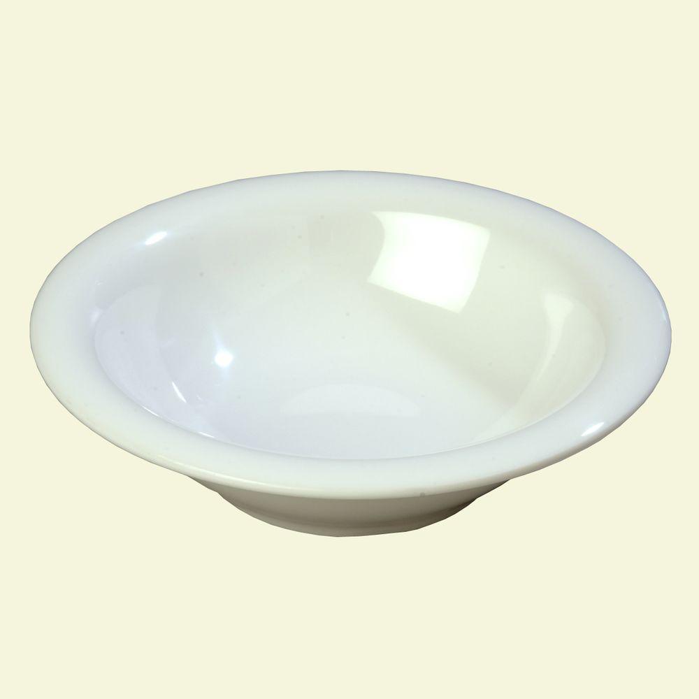 12.9 oz., 7.25 in. Diameter Melamine Rimmed Bowl in Ocean Blue (Case of 24)