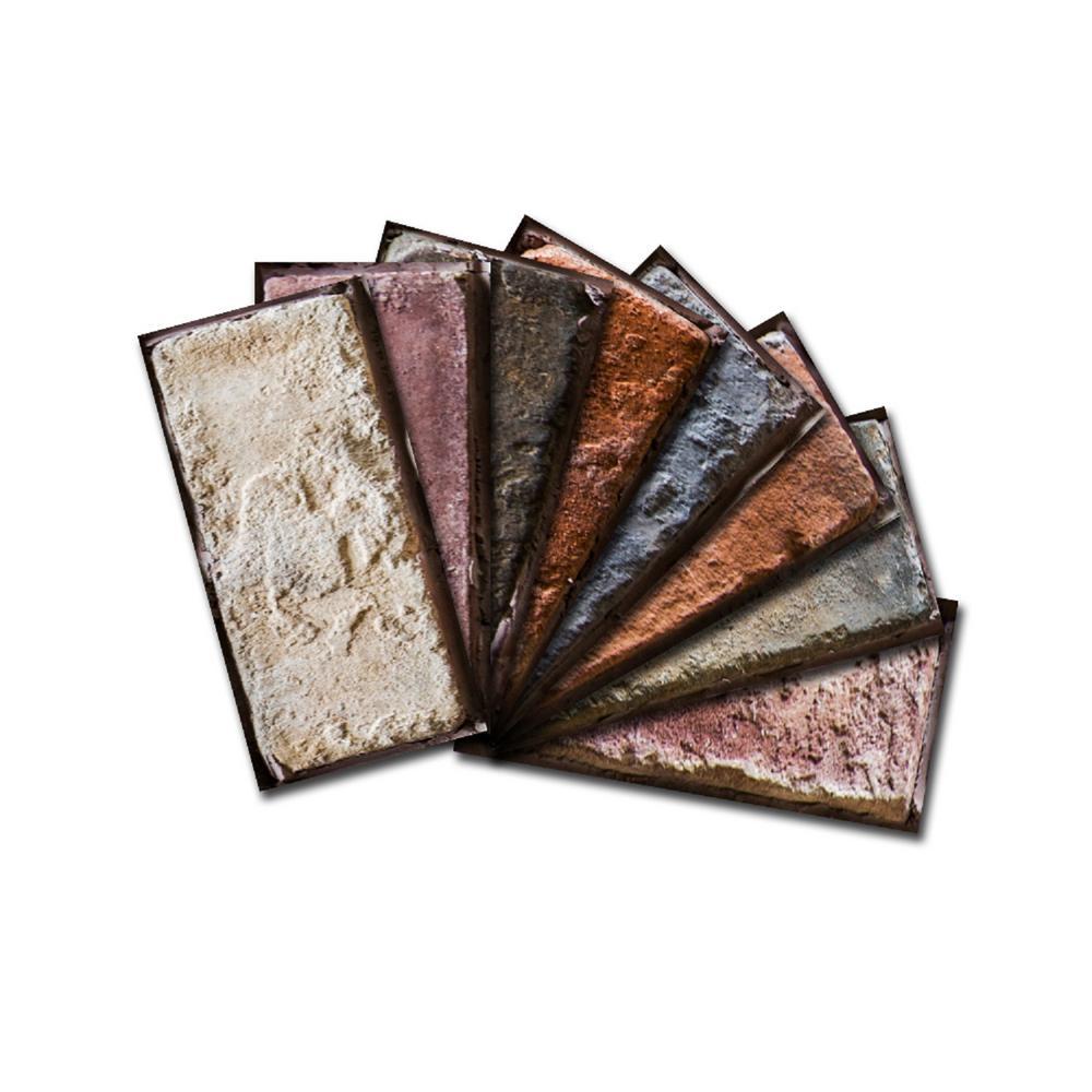 SAMPLE-Custom Beveled Glass Wall Tiles 3 in. x 6 in. x 6mm