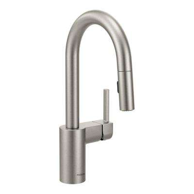Align Single Handle Bar Faucet Featuring Reflex in Spot Resist Stainless