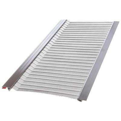 4 ft. L x 6 in. W Stainless Steel Micro-Mesh Gutter Guard (20-Pack)