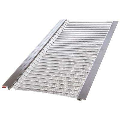 4 ft  L x 5 in  W Stainless Steel Micro-Mesh Gutter Guard (20-Pack)
