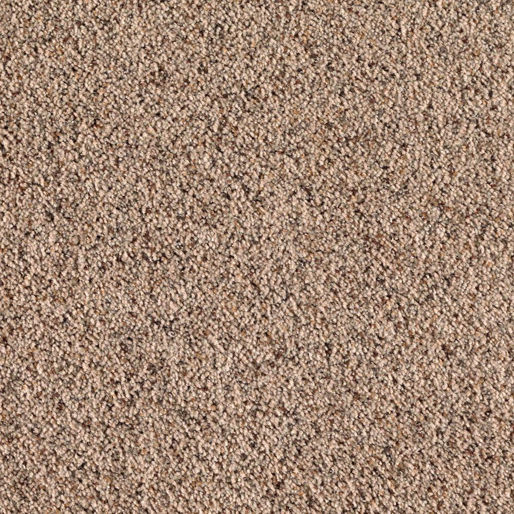 null Legends Lane II - Color Winter Leaf Texture 12 ft. Carpet