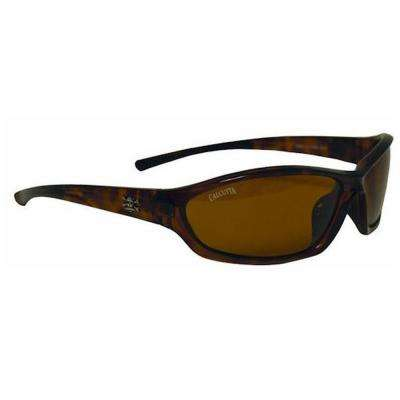 Tortoise Frame Backspray Sunglasses with Amber Lenses