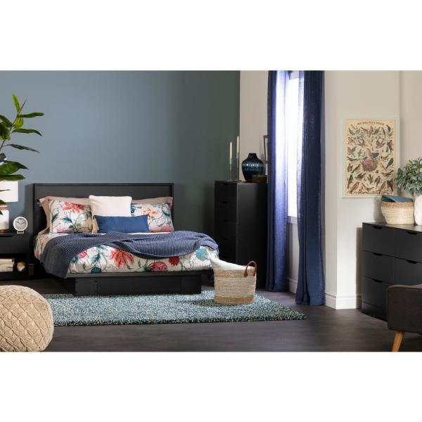 Full//Queen South Shore Holland Platform Bed and Headboard Set