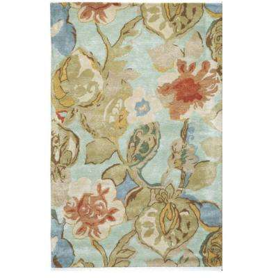 Balcony Sea Foam 10 ft. x 14 ft. Area Rug