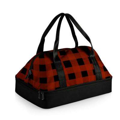 Potluck Casserole Tote Red and Black Buffalo Plaid