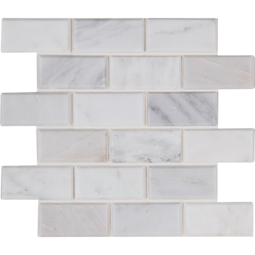 Msi Arabescato Carrara 12 in. x 12 in. x 20mm Honed Marbl...