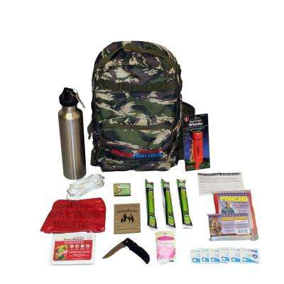 1-Person Essentials Outdoor Survival Kit
