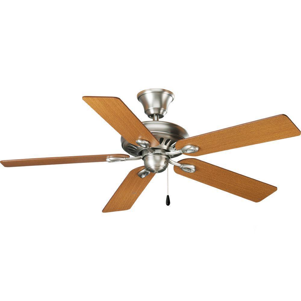AirPro Signature 52 in. Indoor Antique Nickel Ceiling Fan
