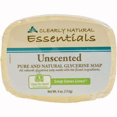 4 oz. Unscented Glycerin Bar Soap (12-Pack)