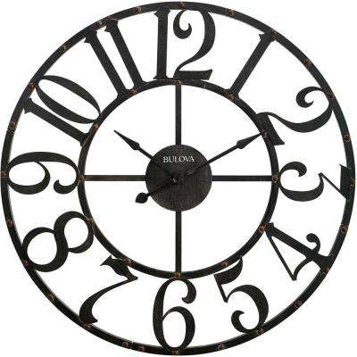 45 in. H x 45 in. W Round Wall Clock