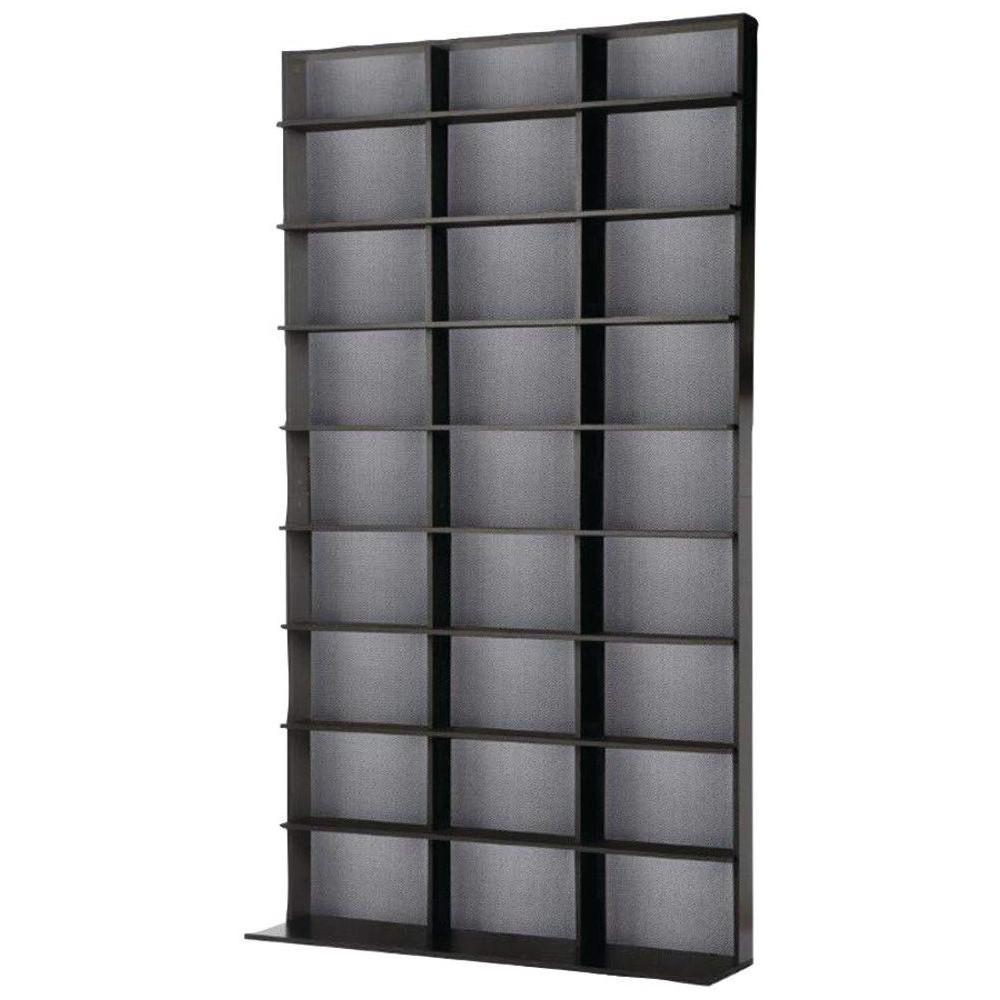 Elite Media Storage Cabinet Medium Black
