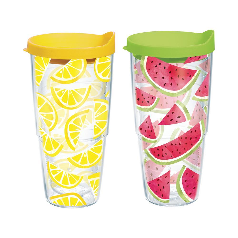 Lemon and Watermelon Trend 24 oz. Tumbler