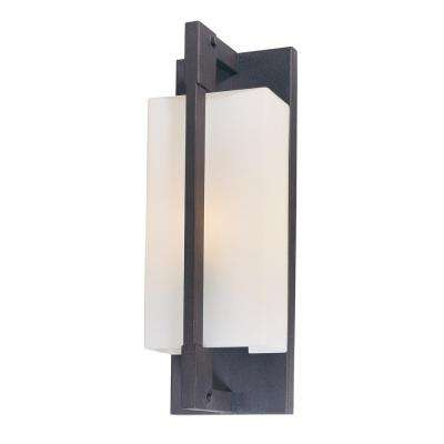 Blade Forged Iron Outdoor Wall Mount Sconce