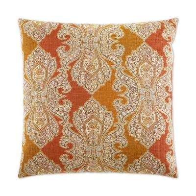 Derrington Punch Feather Down 24 in. x 24 in. Standard Decorative Throw Pillow