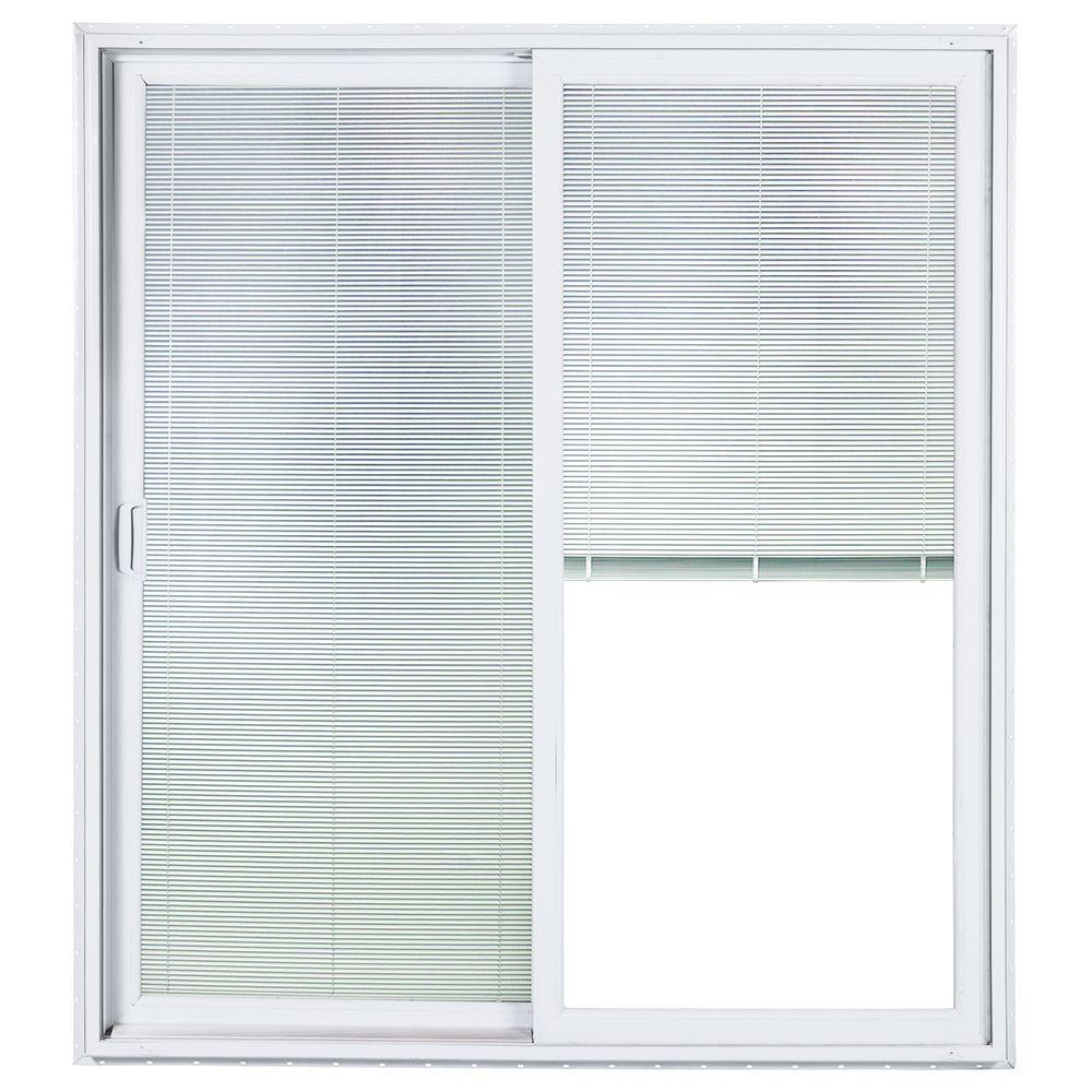 ply gem windows home depot ply gem 72 in 80 lefthand sliding patio door with lowe