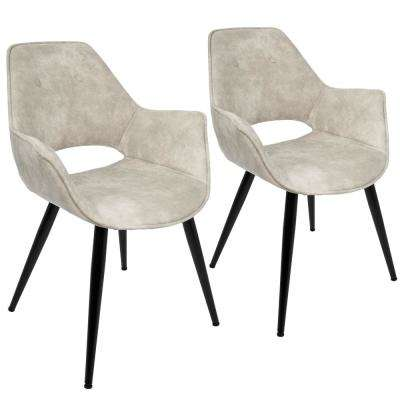 Mustang Beige Accent Chair (Set of 2)