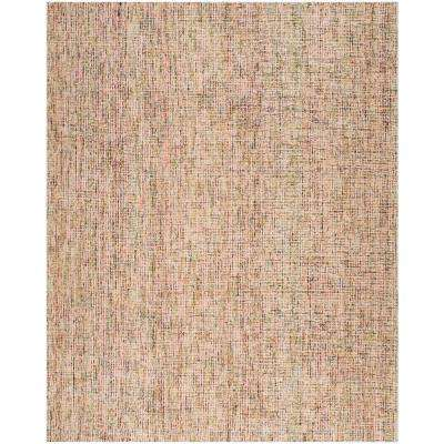 Abstract Gold/Blue 8 ft. x 10 ft. Area Rug