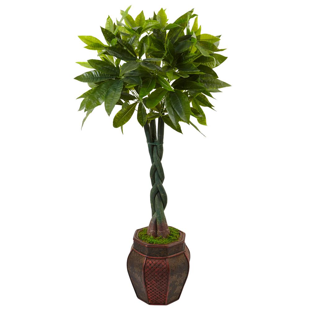 Nearly Natural Indoor Money Artificial Tree in Planter-5969 - The ...