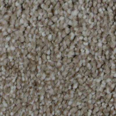 Carpet Sample - Sandy Beach II - Color Wave Texture 8 in. x 8 in.