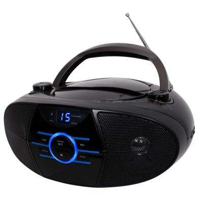 CD-560 Portable Stereo CD Player with AM/FM Stereo Radio and Bluetooth