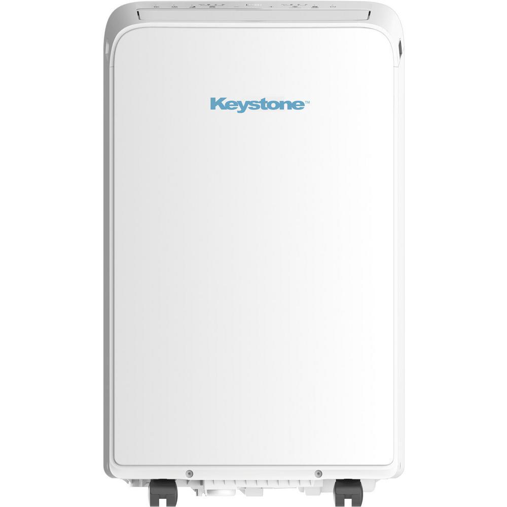 10,000 BTU (6,500 BTU DOE) Portable Air Conditioner in White
