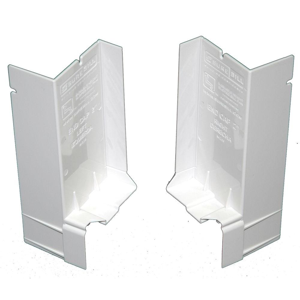 SureSill 2-1/16 in. Sloped Sill Pan End Cap (40-Pack)