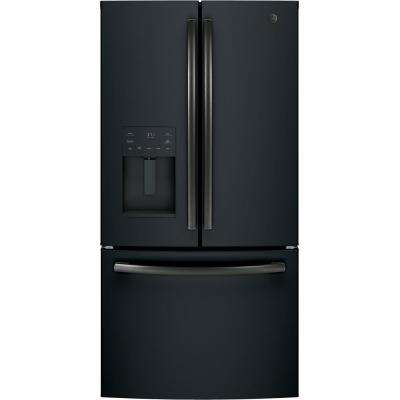 25.5 cu. ft. French-Door Refrigerator in Black Slate, ENERGY STAR Fingerprint Resistant