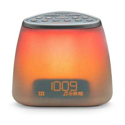 Zenergy Bluetooth Bedside Sleep Therapy Machine with Sound Therapy, Light Therapy, and Dual Alarm